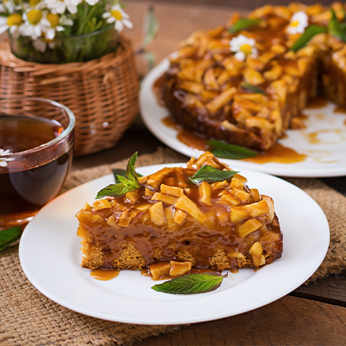 caramel cake recipe at home